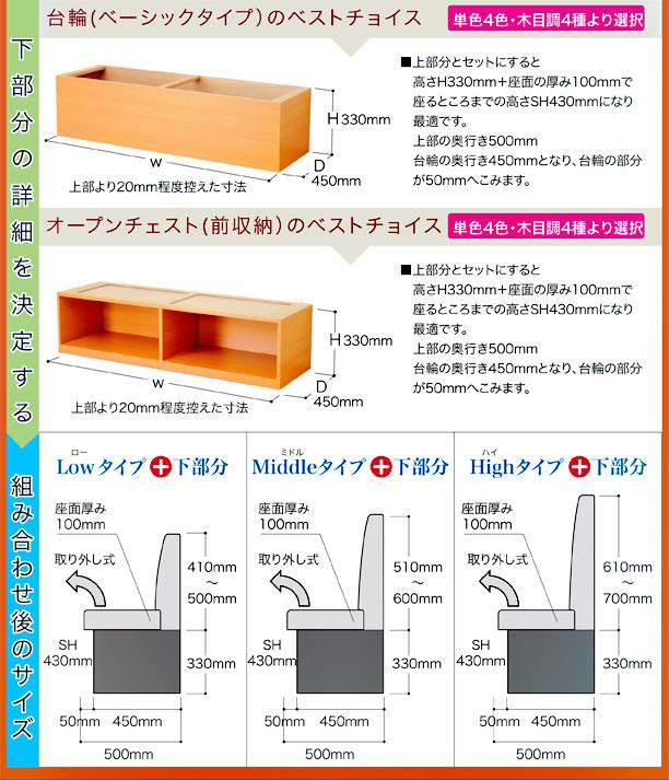 スリムシリーズ収納型詳細